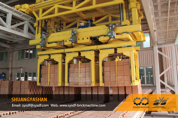 Automatic Brick Unloading Machine