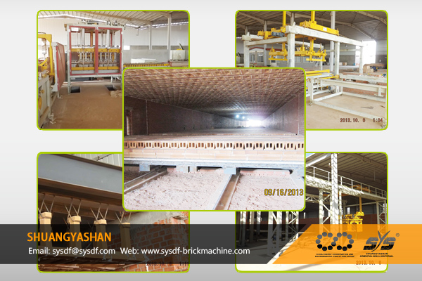 500t/day Brick Production Line for Saudi Arabia