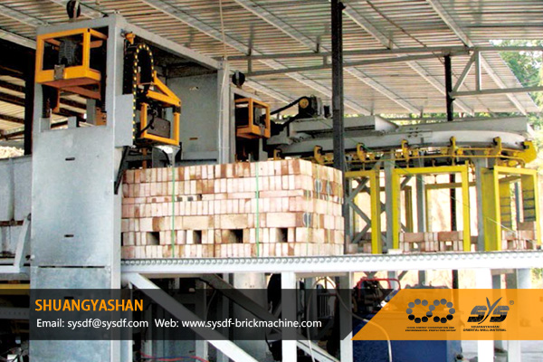 Semi-Automatic Brick Packing System